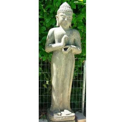 Bouddha debout for Statue de jardin zen